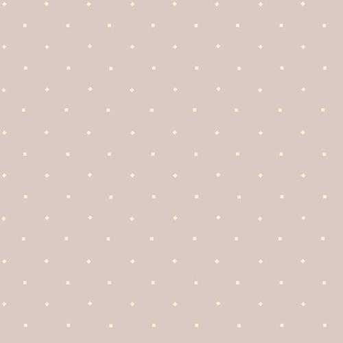 Bumble Garden Flannelgray with white dot