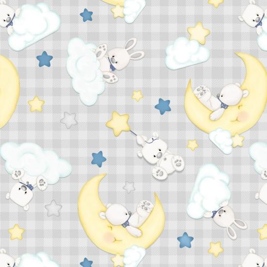 Sleepy Bear 2-Ply Flannel F1439-90