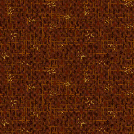 Henry Glass & Co. Folk Art Flannel III F2380-35  Russet