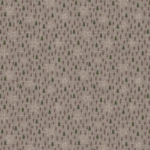Folk Art III gray tree texture