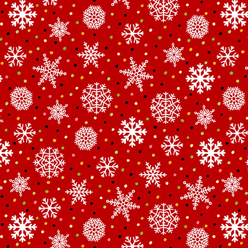 9117-88 Red - Snowflake