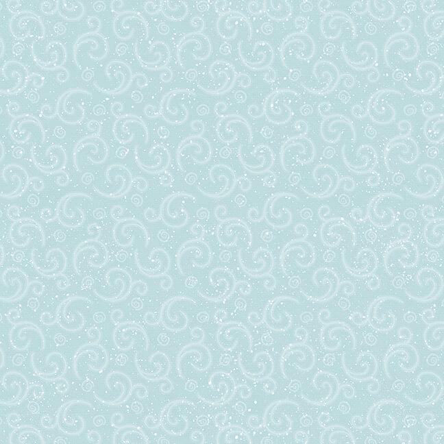 I Love Sn'Gnomies Flannel F9638-11 Aqua
