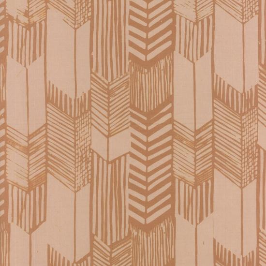 Indah Batiks - Feathered Arrows - Beige