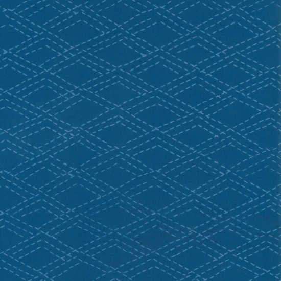 Hand Dyed Batiks - Polka Dots Magenta 166-258