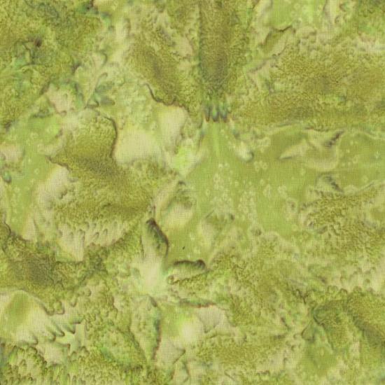 1895 Bali Batik Watercolors - Leaf