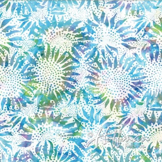884-633-Prism Sunflower Bali Chop Hoffman Batik