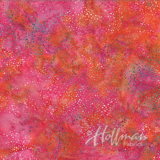 Hoffman Bali Dots Batiks Coral Gables