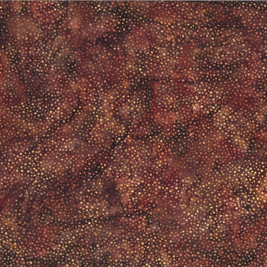 Hoffman Batik 885-372 Saddle