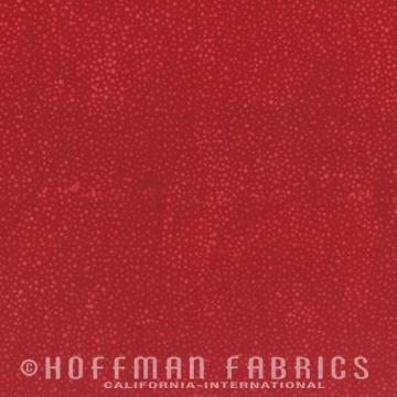 Hoffman Bali Batiks, 885-403 Cherry - by Hoffman Fabrics