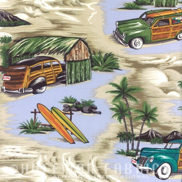 Surf Hut Woodies Khaki