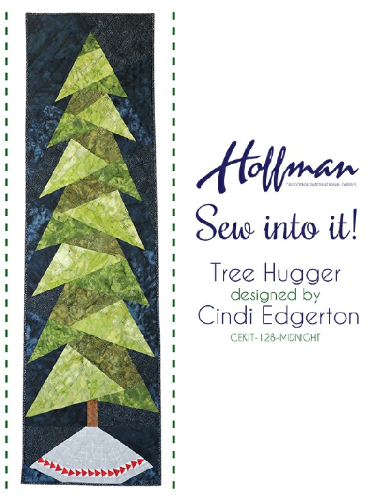 Sew into it! Tree Hugger CEKIT-128-Midnight