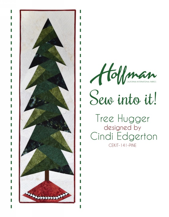 CEKIT-141-Pine Christmas Tree Quilt Kit