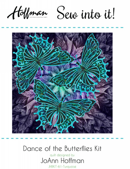Dance of the Butterflies Kit - Turquoise