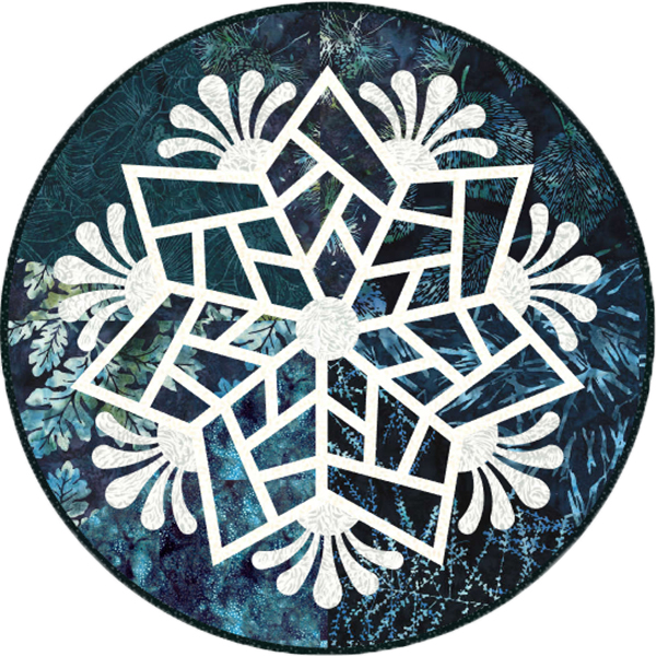 Scandinavian Snowflake 4  Kit - 20 Round Table Toppers