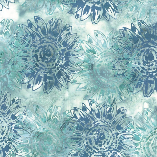 Hoffman Batik Sea-Glass Seed to Blossom by McKenna Ryan - 402