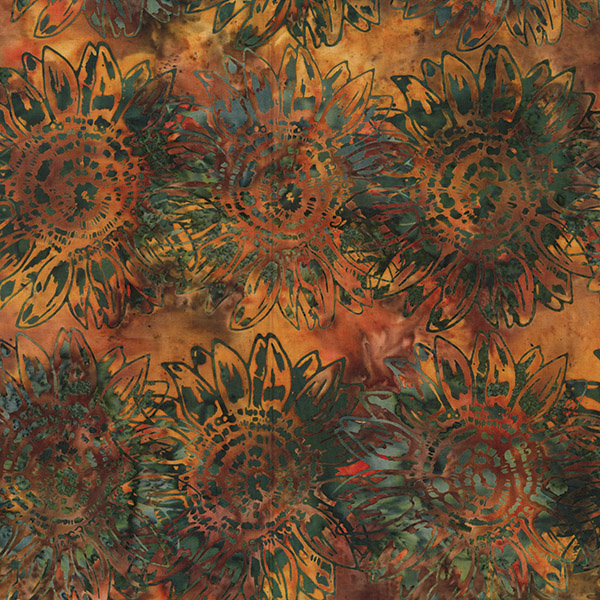 Hoffman Bali Batik MR1-66-Autumn Seed to Blossom by McKenna Ryan