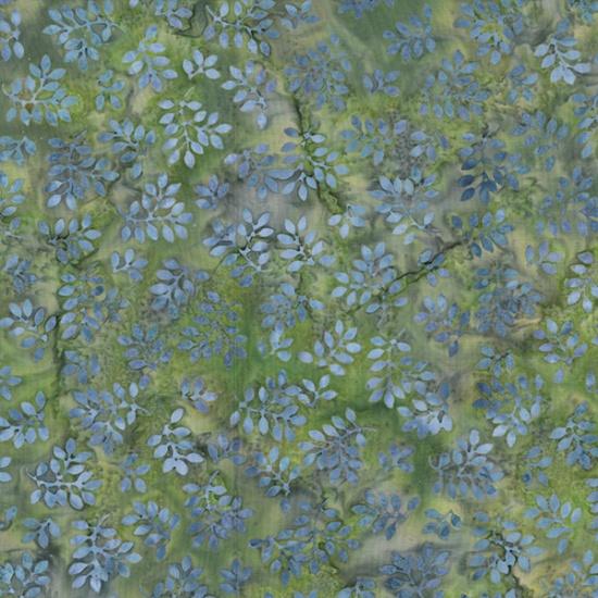 MR10 70 Lavender Big Leaf Seed to Blossom by McKenna Ryan Batik Hoffman Fabrics