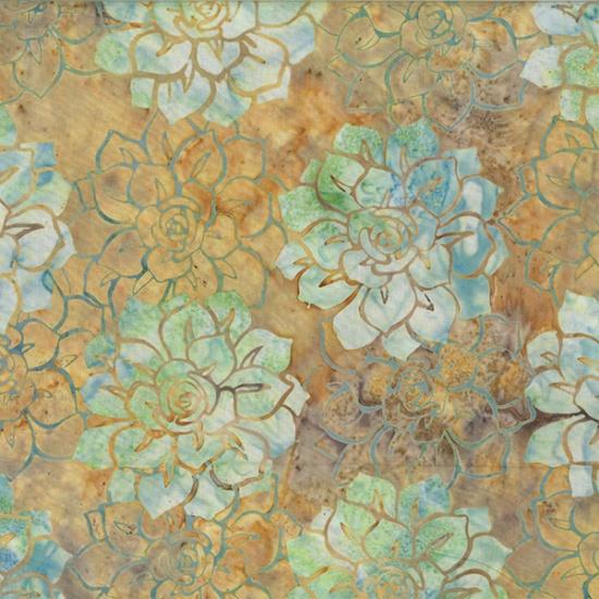 Hoffman Bali Batik MR12-193-Desert Succulents McKenna Ryan