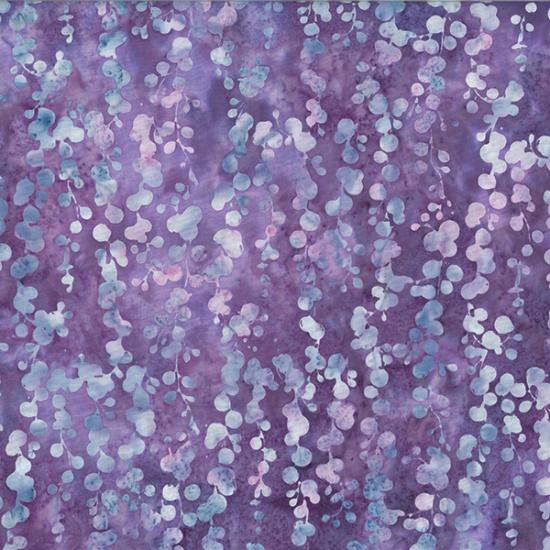 Hoffman Bali Batik MR13-120-Hyacinth String of Pearls McKenna Ryan