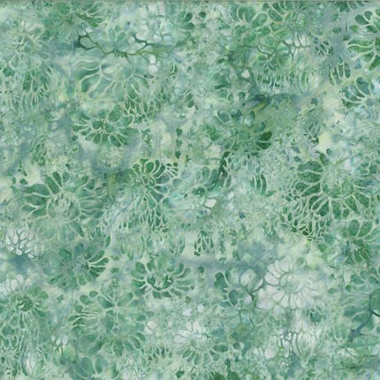 Hoffman Bali Batik MR14-541-Peace Succulent & Flowers McKenna Ryan