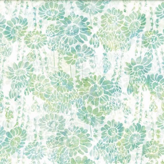 MR14-581-Bluegrass Succulent & Flowers Oasis Batik McKenna Ryan