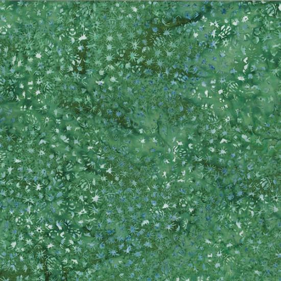 Hoffman Bali Batik MR17-31-Emerald Cactus Texture McKenna Ryan