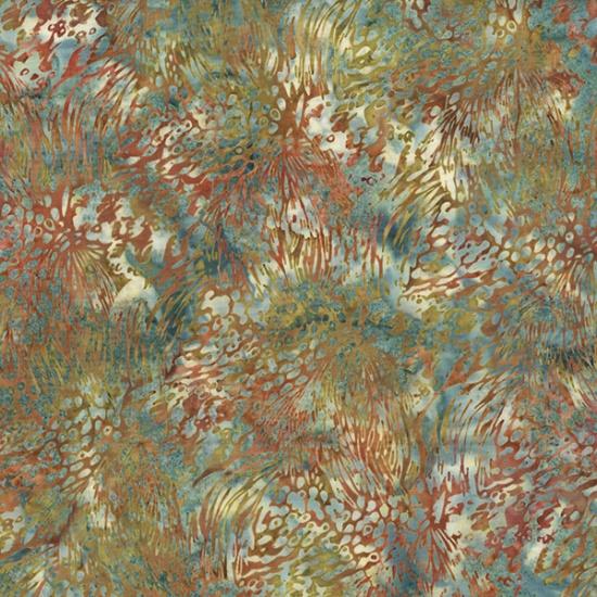Bali Batik Feathers Mimosa