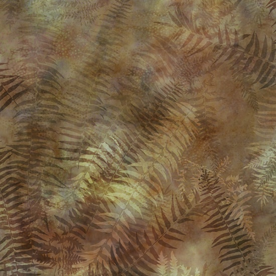 Painted Forest - Ferns<br>Amber - MRD3-36
