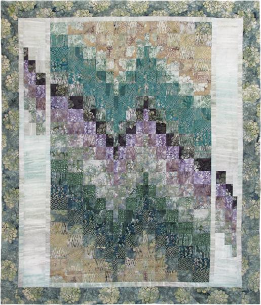 MRDMB-193-Desert Mirage Bargelo Quilt Kit Oasis Batiks McKenna Ryan