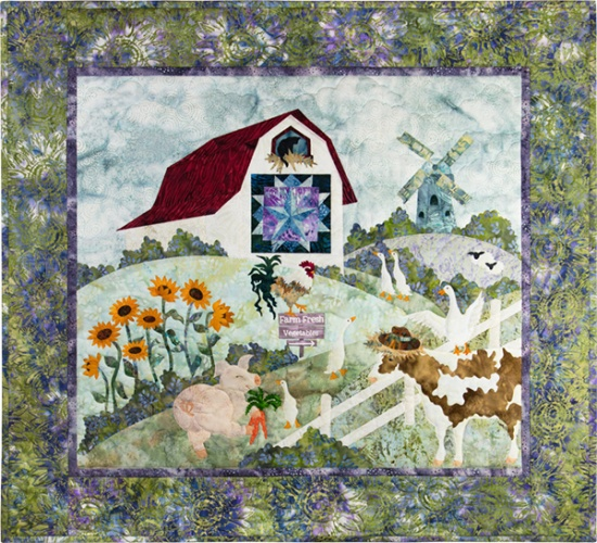 Harvest The Gentle Barn Kit with Pattern