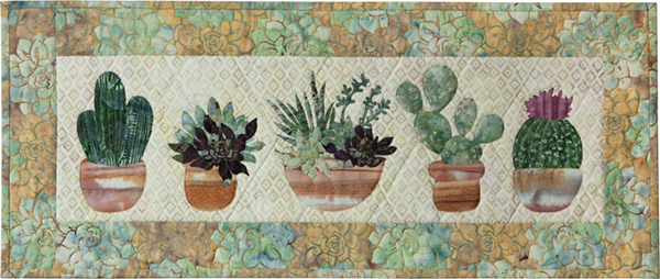 McKenna Ryan Oasis Kit Prickly Pots Runner 32x 13