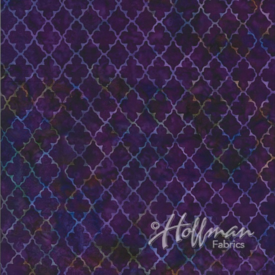 Batik New-Grape Grid