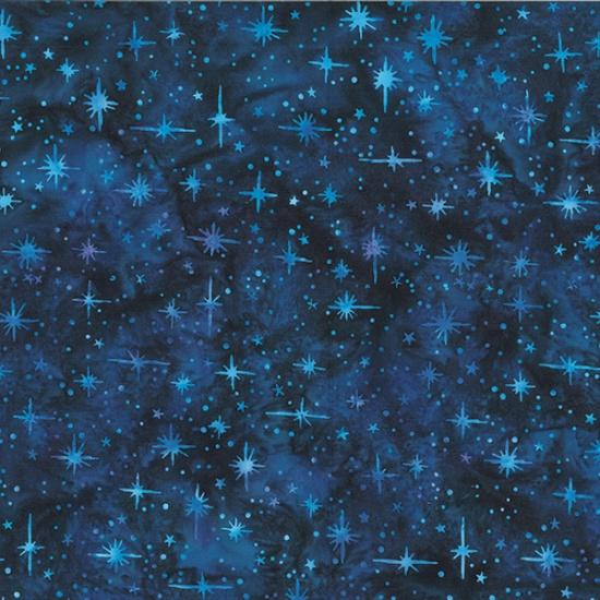 Hoffman Bali Batik Q2185-254-Tahiti Stars