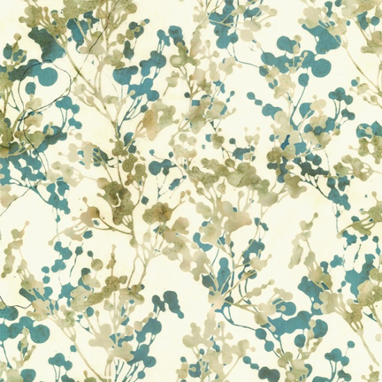 Hoffman Bali Batik Q2188-489-Seagull Foliage