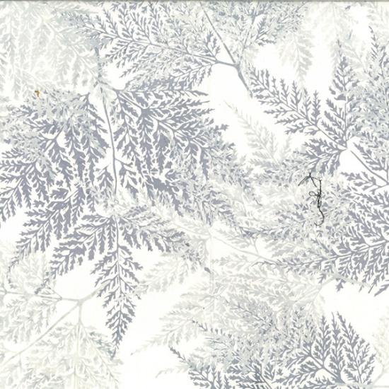 Hoffman Bali Batik Q2197-190-Ice-Blue Fern