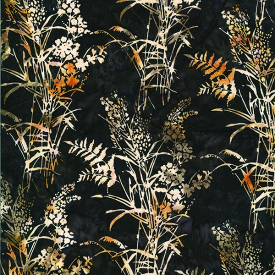 Bouquet Fabric - Bear Bali Batiks by Hoffman Fabrics
