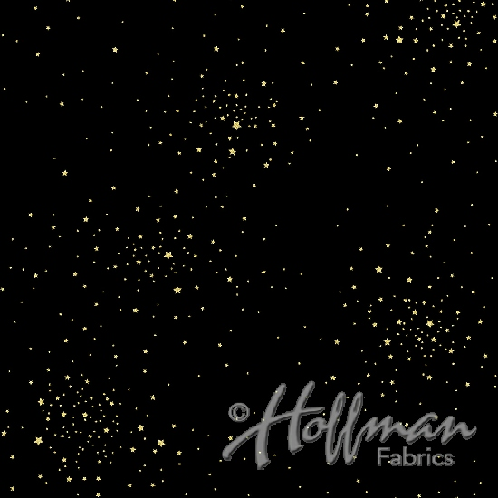 Q4413-4G-Black-Gold Sparkle and Fade