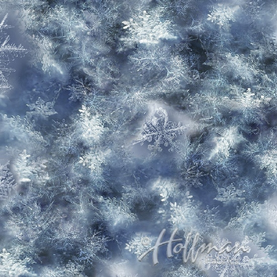 Hoffman - Call Of The Wild Snowflakes Blue