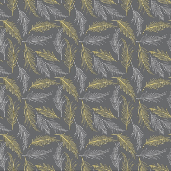 Sparkle and Fade by Hoffman Fabrics - Charcoal/Metallic 4471-55m
