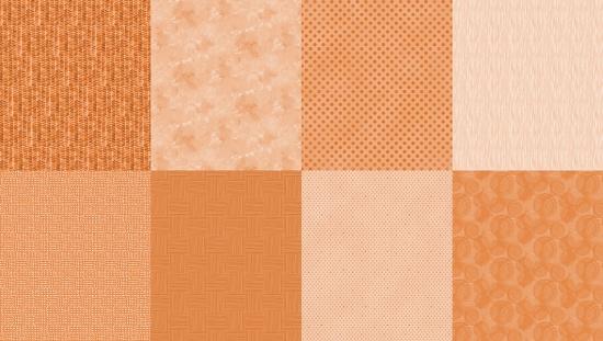 Tangerine Spectrum Digital Print