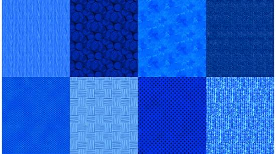 Item#12015.K - Sapphire Details 2 YD Panel - Hoffman