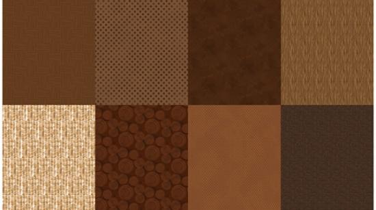 HF Details Brownie (2 yard panel)