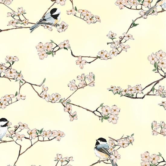 A Little Birdie Told Me Q4505-426 Oregano Silver