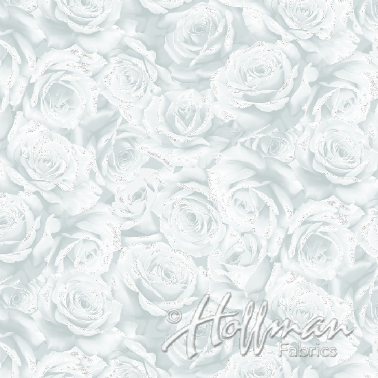 Frost-Silver Roses