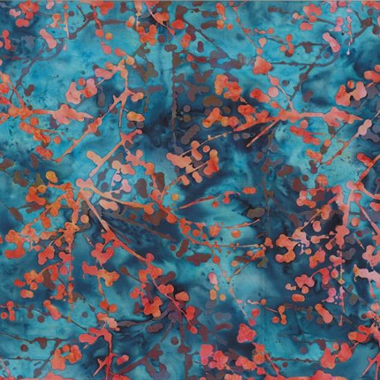 Hoffman Bali Batiks, R2206-151 Sunset - by Hoffman Fabrics