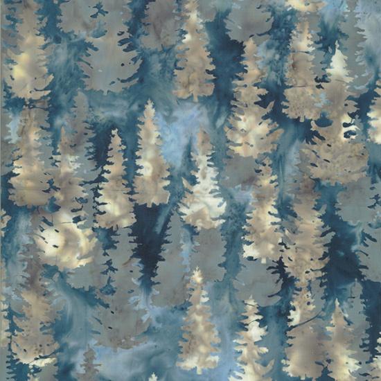 Hoffman Bali BatikR2208-594-September Pine Trees