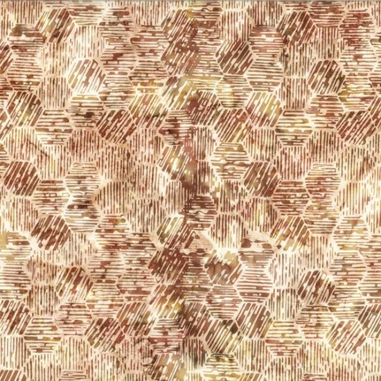 Hoffman Bali Batiks - R2215-528 Cinnibar - by Hoffman Fabrics