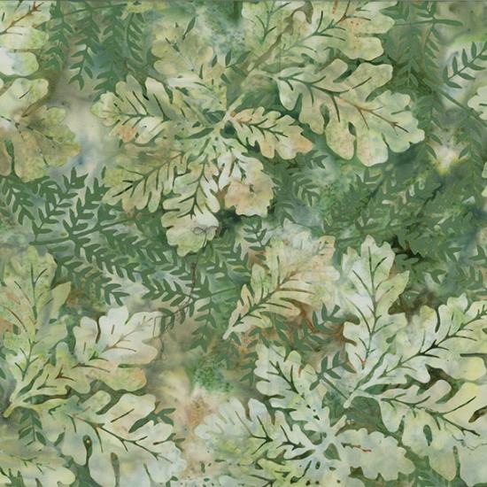 Bali Batik - Oak Leaves - Balsam