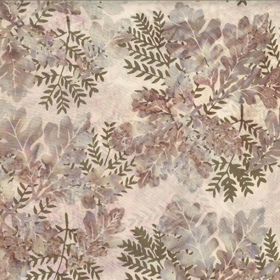 Hoffman Bali BatikR2232-459-Lotus Leaves