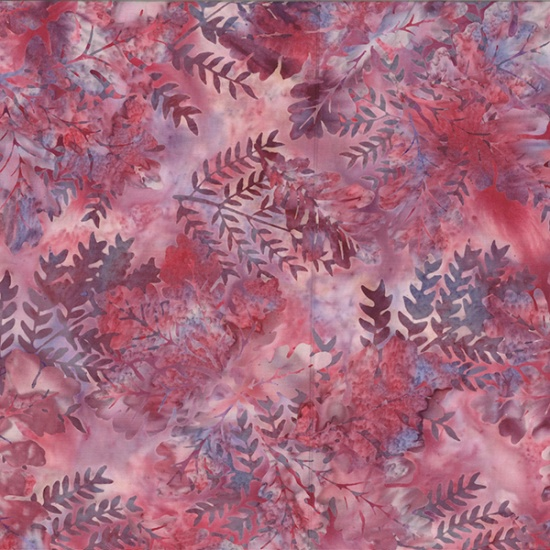 Hoffman Handpainted Bali Batiks - R2232-557Azalea - - by Hoffman Fabrics